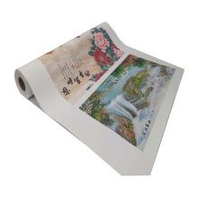 Polyester PVC-freies selbstklebendes Wandsegeltuch