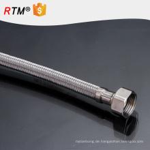 J5 geflochtene flexible natürliche Gasschläuche haltbarer umsponnener Schlauch gewölbtes Rohrmetallflexibler Schlauch
