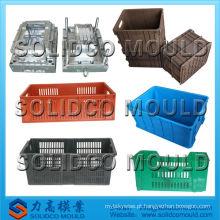 China fornecedor taizhou huangyan molde de injeção caixas de vegetais fabricante