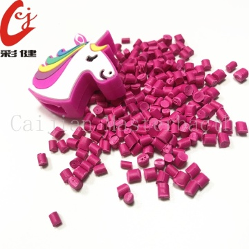 Rose Red Color Masterbatch Granules