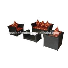 All Season Foshan Fashion Garden Furniture Rattan Sofa