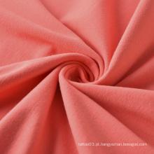 Tecido de algodão BCI Tecido de malha simples com certificação GOTS