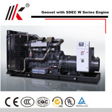 NOISE REDUCTION 5 MW GENERATOR WITH 800KW SHANGHAI DIESEL GENERATOR