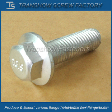 M12X40mm Class 10.9 Ruspert Coated Steel Hex Flange Bolt
