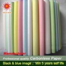 цветная бумага в рулонах