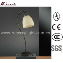 Antique Simple Glass Reading Table Lamp for Hotel Project