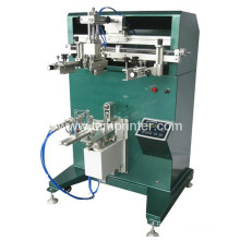 Impressora pneumática da tela da garrafa do cilindro do diâmetro 125mm de TM-400e auto