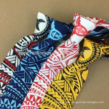 100% handgemachte perfekte Knoten gedruckt Tie Polyester Print
