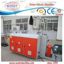HOT SELL Kunststoff HDPE Rohr Extruder Maschinen