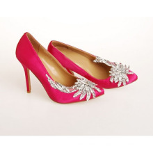 New Style Fashion High Heel Wedding Shoes (Hcy02-793)