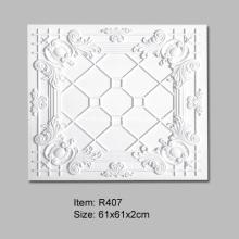 61x61cm Polyurethane Ceiling Tiles for Interior Decoration