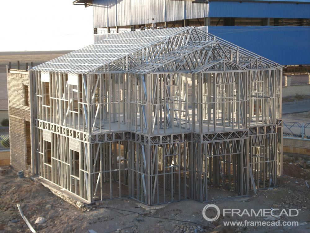 Rumah Prefab Steel Light