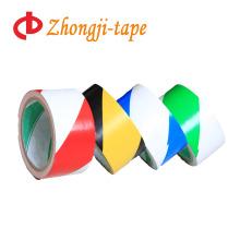 Fita de advertência de PVC de cor dupla