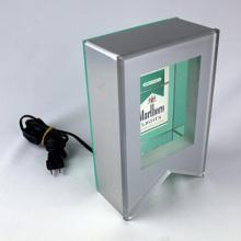 Exhibición del cigarrillo del LED, caja ligera de acrílico para el cigarrillo