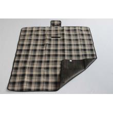 Plaid Picnic Blanket with Fleece