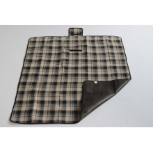 Plaid Picnic Blanket with Fleece