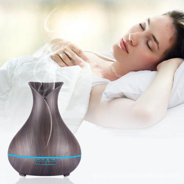 Wood and Glass Aroma Diffuser Aromatherapy 400ml