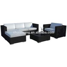 sea beach rattan sofa sets outdoor handmade wicker furniture