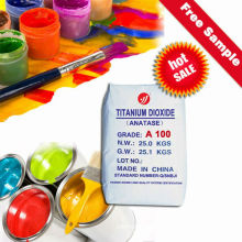 Nano Grade Anatase Titanium Dioxide pour les peintures Latex Intérieur-Mur (A100)