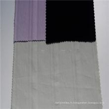 Tissu dobby en coton imprimé spandex satin de fournisseur d'usine