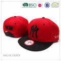Nueva York Puff bordado Hip hop gorra