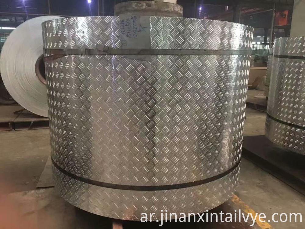 Patterned Aluminum Plate for Packaging Pipeline