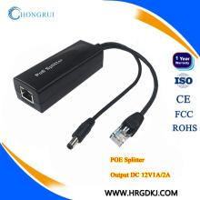 HRUI 10 стандартных/100м 48В 24В/12В разветвитель PoE на PoE коммутатор
