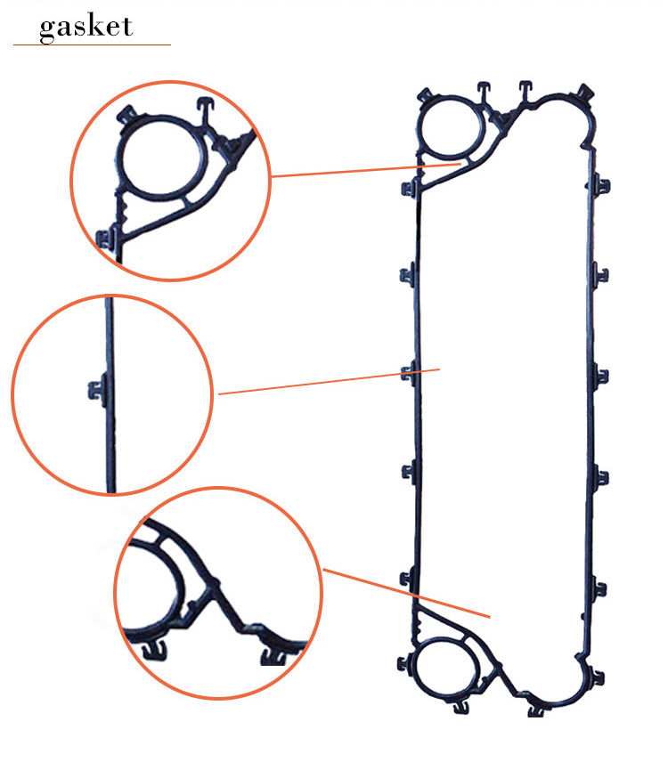 Heat Exchanger Clip-on Gasket