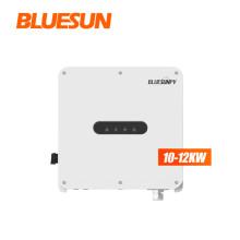 BLUESUN on grid solar inverter 10kw grid tie solar inverter 10kw 12kw solar inverter price for solar power system