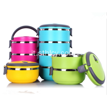 Lunch Box Thermos in acciaio inossidabile 1-4 livelli