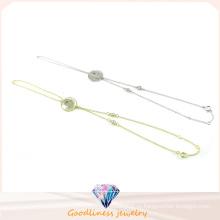 Простой дизайн для модных ювелирных изделий CZ Stone Bracelet (BT6594)