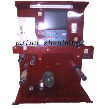 Machine d'inspection d'étiquettes avec moniteur