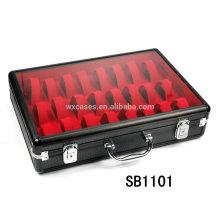 caja de aluminio para 24 relojes de la venta caliente