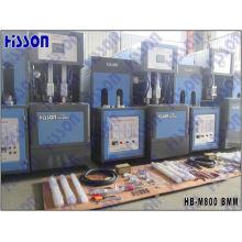 Máquina de moldagem de sopro de garrafa de animal de estimação semi automática hb-M800