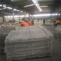 Sechseckige Gabionenbox aus PVC-beschichtetem Steinkäfig