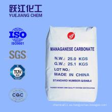 Carbonato de manganeso de alta calidad de China fabricante