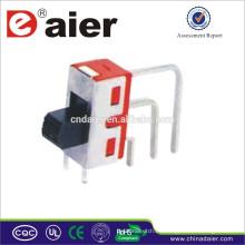Mini interruptor deslizante SS8-7 hecho en China mini interruptor deslizante