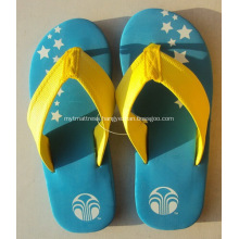 Personalized Custom Slippers With Fabric Straps