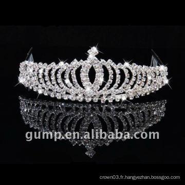 Tiare couronne de mariée