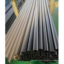 Tubo de liga de aço de níquel 904L para indústria de petróleo / gás