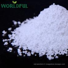 Poudre de blanc de cristal blanc de sulfate de magnésium ou sulfate granulaire riche en magnésium de MgSO4