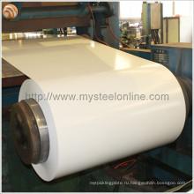 ASTM, BS, DIN, GB, JIS Стандартная кровельная сталь Используется RAL9002 с белым листом PPGI с высокой прочностью