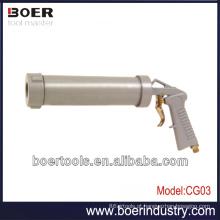 Pistola de silicone de ar pistola de ar de calafetagem