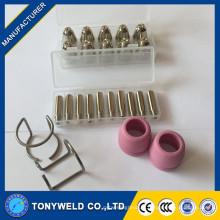AG60 SG55 écouteur électrodenozzle pour consommable torche à plasma