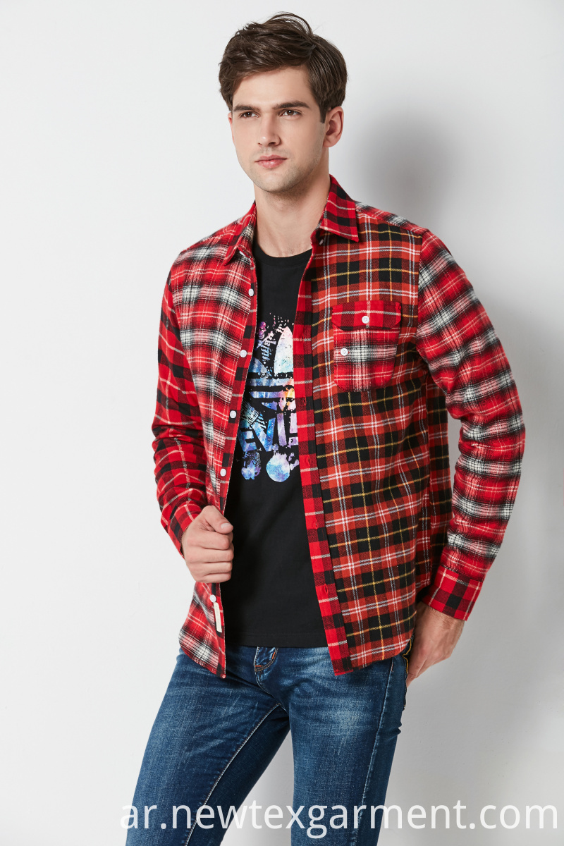 YARN DYED CHECK SHIRT