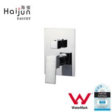 Haijun China Market Watermark Square Shape Brass Bathroom Shower Hand