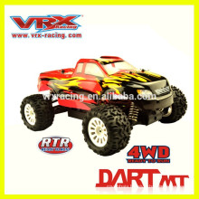 Unique design 1/18 scale 4WD Brushless monster truck