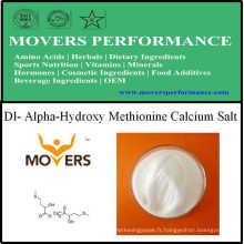 Sel d'acide aminé d'approvisionnement d'acides aminés Dl- Alpha-Hydroxy Methionine
