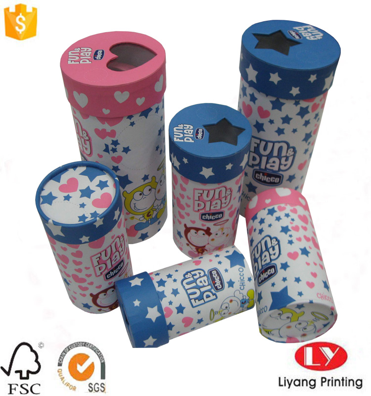 cylinder paper box