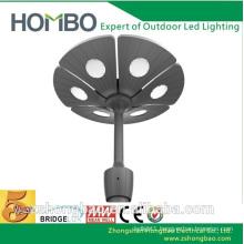 240 volt ul dlc antique led garden pole top lights street lamp fixture